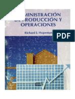 Administracion de Produccion y Operaciones - RICHARD j. Hopeman