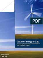 20% Wind Energy by 2030