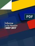 Informe a La Nacion