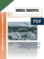 Memoria Descriptiva -Cahua