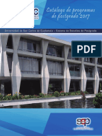 Guatemala Catalogo de Postgrados USAC