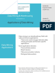Applications of Data Mining