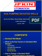 Rod Pumping Deviated Wells