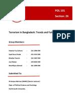 Terrorism in Bangladesh