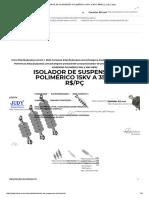 ISOLADOR DE SUSPENSÃO POLIMÉRICO 15KV a 35KV R$_PÇ _ Judy Cabos