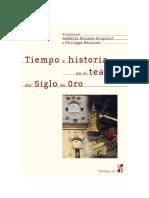 Tiempo e Historia en El Teatro Del s de Oro