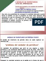 Sistemas y Modelos de Inventarios-