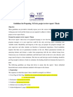 Latest-M.tech Thesis and Review Report Guidelines_2014