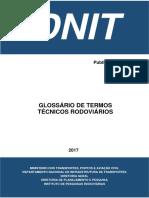 Glossario Termos Tecnicos DNIT