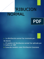Distribucion Normal