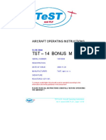 TST-14 M Aircraft Manual LSA Rev.0.74