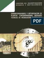 Dimencionamiento y Optimizacion Plantas as - Jaime Sepulveda