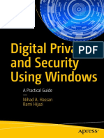 Digital Privacy Security Using Windows