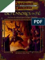 D&D 3E - Livro de Referência - Defensores da Fé - Biblioteca Élfica.pdf