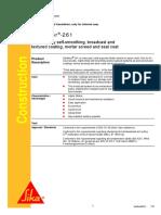 001 PDS Sikafloor-261 System