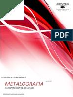 Reporte de Metalografia.