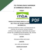 TESIS SISTEMA INFORMATICO DE NOTAS