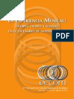 Experiencia Musical, Cuerpo, Tiempo y Sonido