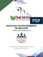 1- Protocolo de Selección Clean Service SAS