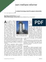 Increased Steam Methane Reformer Throughput