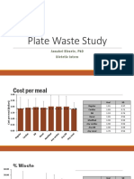 plate waste study