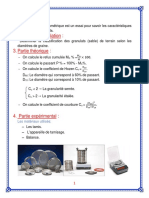L'Analyse Granulométrique
