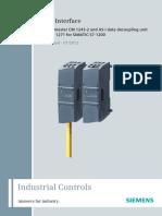 As-Interface CM 1243-2 DCM 1271 Manual