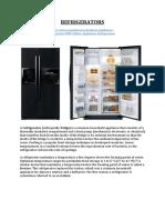 Refrigerators 2d9b7