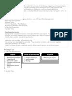 Project Risk Management Questions