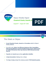 Cleantech Grants, Awards, Incentives - Weekly Update (Aug 30th 2010)