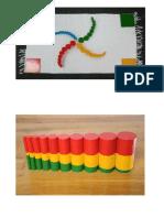 Ejemplos de Cilindros Montessori