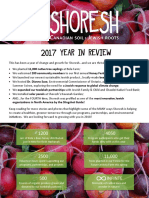 2017 Shoresh Year in Review
