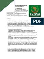 AMISOM reiterates its commitment to degrade Al-Shabaab, at a high-level Partnership Forum