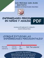 Enfermedad Periodontal en Odontopediatria