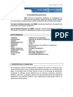 Silabo Cadena de Abastecimientos 2017 Mayo-Agosto 2017. Docente Anthony Caraballo.