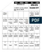 2017 December Open Gym