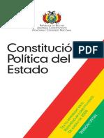 CPE - Primera Parte - Bases Fundamentales Del Estado Derechos Deberes y Garantias