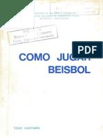 COMO JUGAR BEISBOL