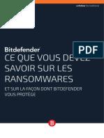 Livre Blanc - Comment Bitdefender Vous Protège Des Ransomwares