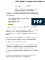 La Television Digital Terrestre (TDT)