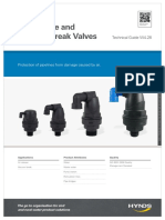Air Release Vacuum Break Valves