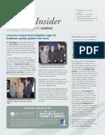 Louisiana Quality Insider Newsletter