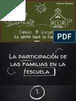 Partciicpacion de La Familia en La Escuela