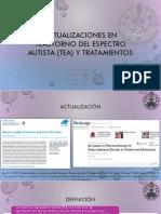 Actualizaciones en Trastorno Del Espectro Autista (TEA)