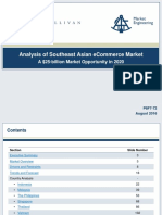 Analysis of Southeast Asian ECommerce Market