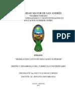 ENSAYO MODELO EDUCATIVO EN EDUCACION SUPERIOR.pdf