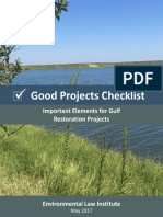 Good Projects Checklist