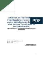 Situacion de Los Estudios e Investigacio