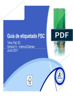 FSC Labelling Guidelines TP Chile Interna y Clientes Junio- 2011