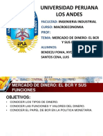 Mercado de Dinero El Bcr y Sus Funciones.